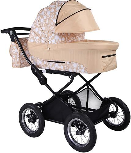 Коляска 2 в 1 BabyHit Evenly Beige (4)