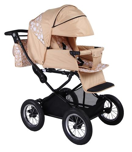 Коляска 2 в 1 BabyHit Evenly Beige (5)