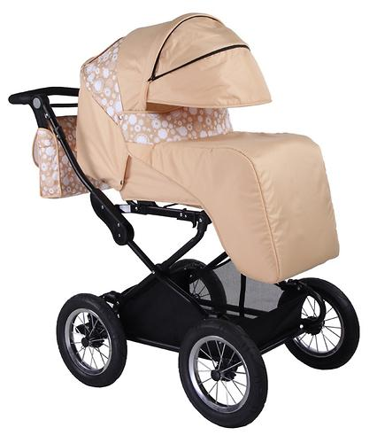 Коляска 2 в 1 BabyHit Evenly Beige (6)