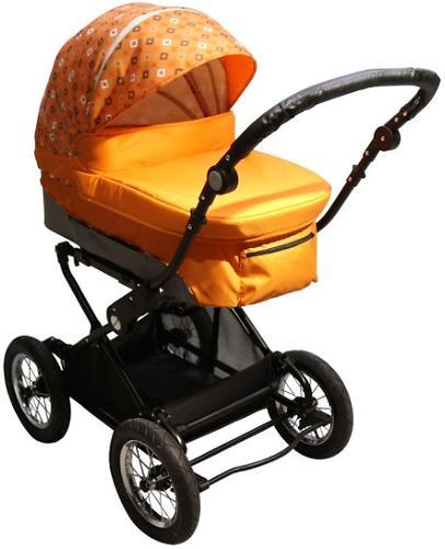 Коляска 2 в 1 BabyHit Evenly Orange (5)