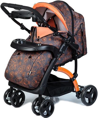 Коляска BabyHit Flora Orange (11)