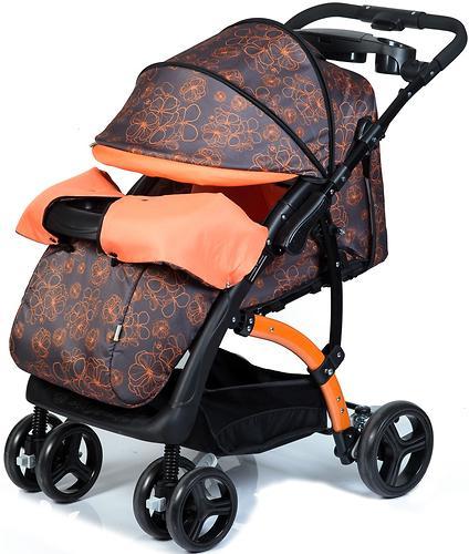Коляска BabyHit Flora Orange (10)