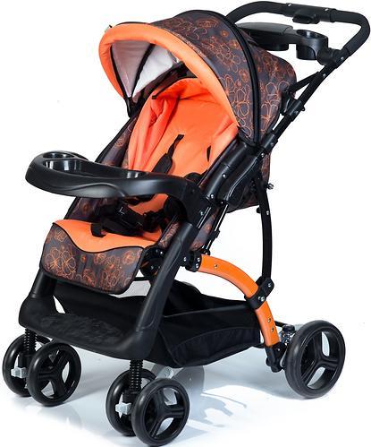 Коляска BabyHit Flora Orange (13)