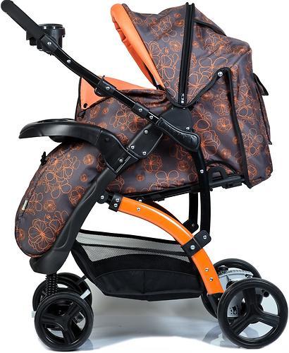 Коляска BabyHit Flora Orange (14)