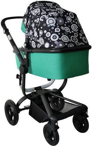 Коляска BabyHit SMART BLACK-GREEN (5)