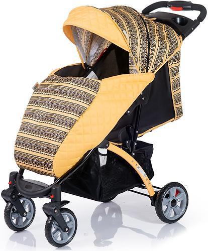 Коляска BabyHit Tetra Yellow (8)