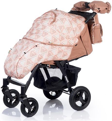 Коляска BabyHit TRAVEL AIR Brown-Orange (10)