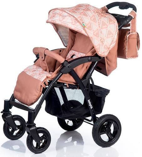 Коляска BabyHit TRAVEL AIR Brown-Orange (11)