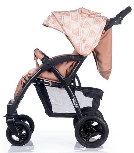 Коляска BabyHit TRAVEL AIR Brown-Orange (12)