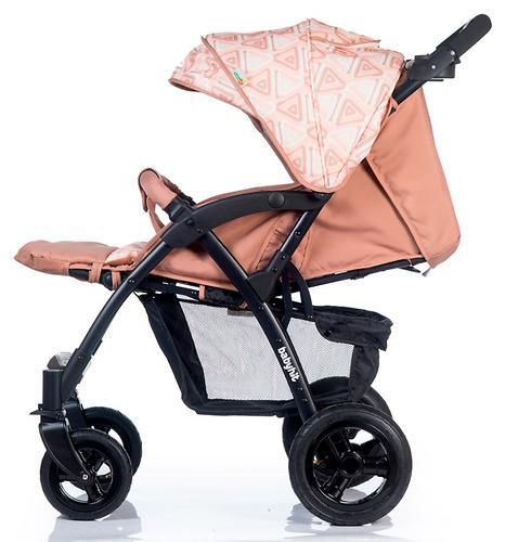 Коляска BabyHit TRAVEL AIR Brown-Orange (13)