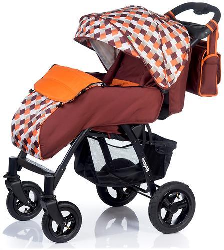 Коляска BabyHit TRAVEL AIR Brown-Orange (9)