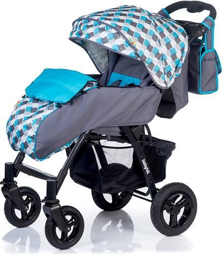 Коляска BabyHit TRAVEL AIR Grey-Blue (9)