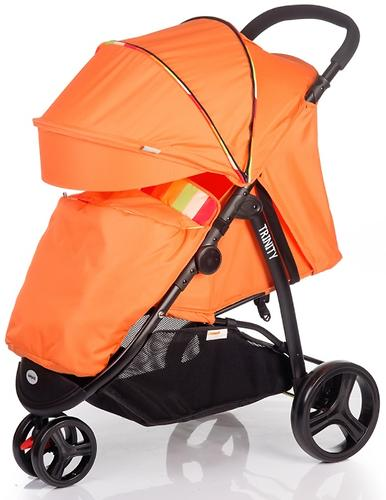 Коляска BabyHit TRINITY Orange Strips (3)