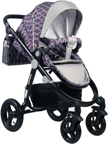 Коляска BabyHit 2в1 Valente Violet Grey (11)