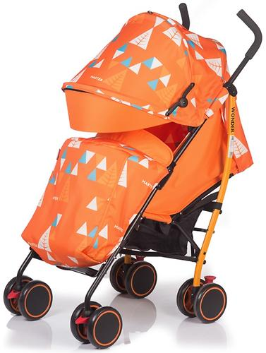 Коляска BabyHit WONDER Orange (6)