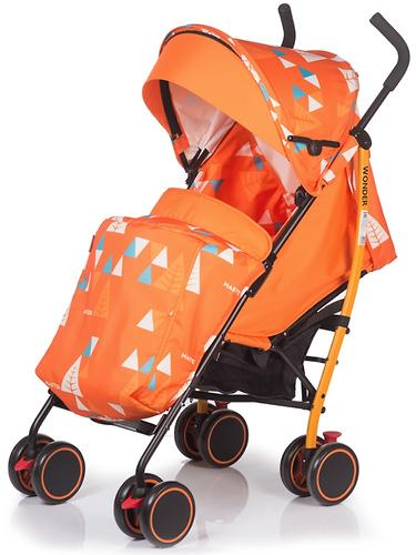 Коляска BabyHit WONDER Orange (7)