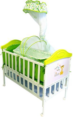 Кроватка Babyhit Sleepy Extend Green (3)