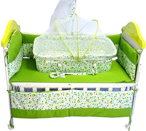 Кроватка Babyhit Sleepy Extend Green (4)