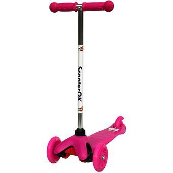 Самокат BabyHit Scooter OK Pink - Minim