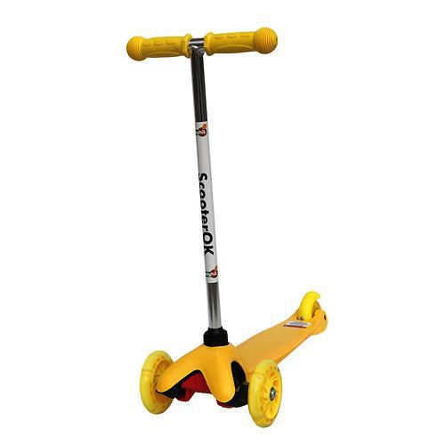 Самокат BabyHit Scooter OK Yellow (1)
