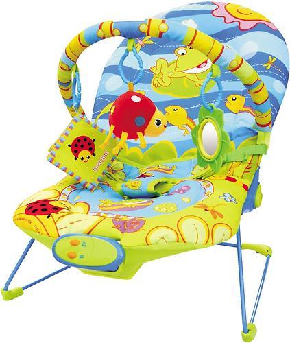 Шезлонг BabyHit Счастливый лягушонок BR-02 (1)