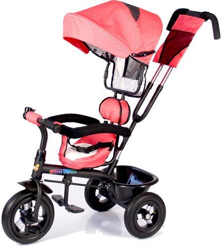 Трицикл BabyHit Kids Tour Red Linen (7)