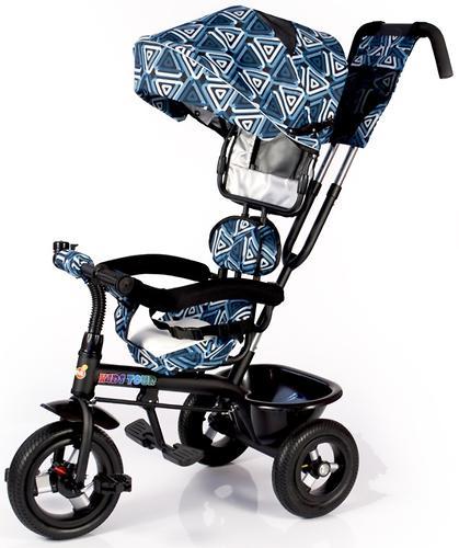 Трицикл BabyHit Kids Tour White-Blue (7)