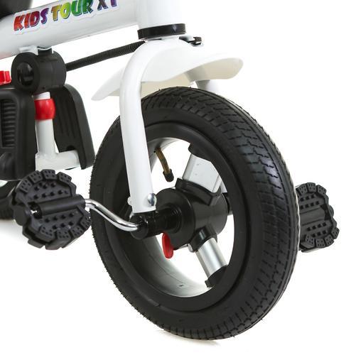 Трицикл BabyHit Kids Tour XT White-Blue (14)