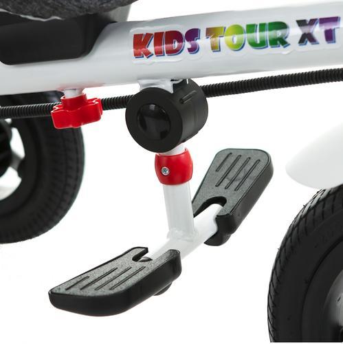 Трицикл BabyHit Kids Tour XT White-Blue (15)