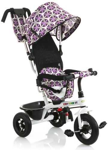 Трицикл BabyHit Kids Tour XT White-Violet (9)