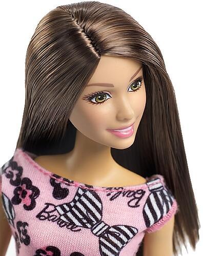 Кукла Barbie Стиль в платье с бантиками (4)