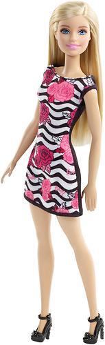 Кукла Barbie Стиль в платье с розой (4)