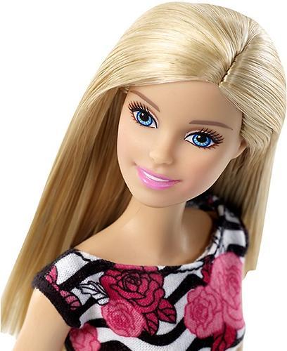 Кукла Barbie Стиль в платье с розой (5)