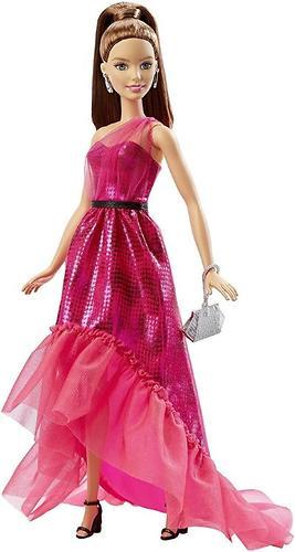 Кукла Barbie Розовая изысканность Шатенка (4)