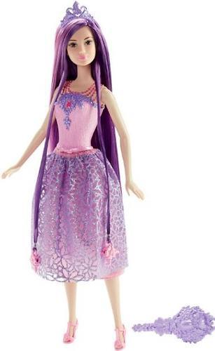 Кукла Barbie Принцесса с длинными волосами Фиолетовая DKB59 (3)