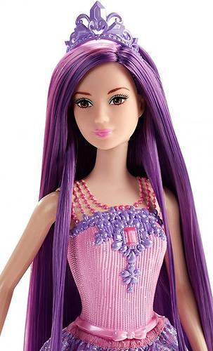 Кукла Barbie Принцесса с длинными волосами Фиолетовая DKB59 (4)