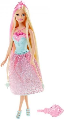 Кукла Barbie Принцесса с длинными волосами Блондинка DKB60 (4)