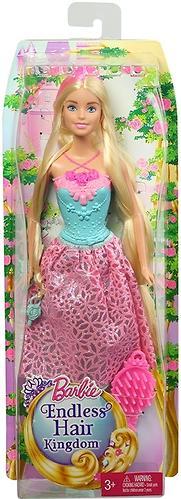 Кукла Barbie Принцесса с длинными волосами Блондинка DKB60 (6)