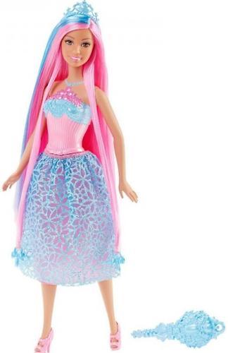 Кукла Barbie Принцесса с длинными Розовыми волосами DKB61 (3)