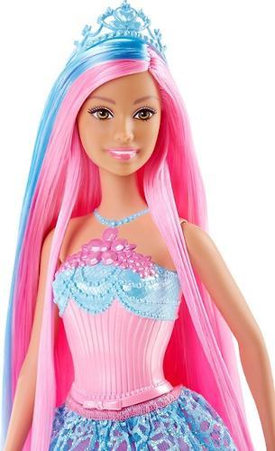 Кукла Barbie Принцесса с длинными Розовыми волосами DKB61 (4)