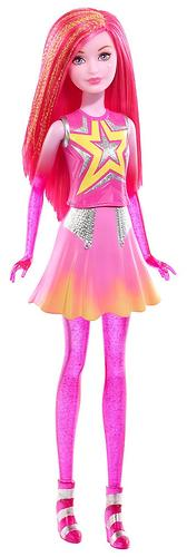 Кукла Barbie Star Light Adventure Costar Doll Pink (5)