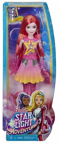 Кукла Barbie Star Light Adventure Costar Doll Pink (8)