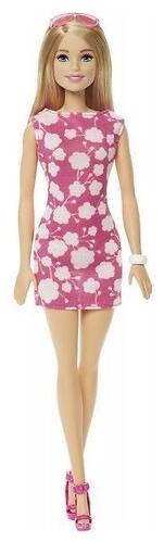 Кукла Barbie Базовая кукла в розовом платье DMP23 (4)