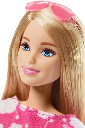 Кукла Barbie Базовая кукла в розовом платье DMP23 (5)
