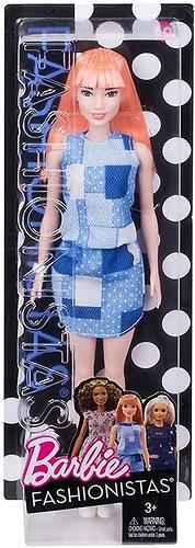 Кукла Barbie Модница Patchwork Denim (6)