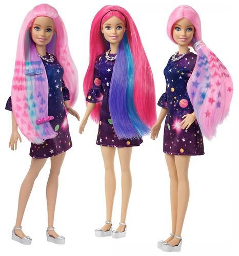 Игровой набор Barbie Волшебные пряди (7)