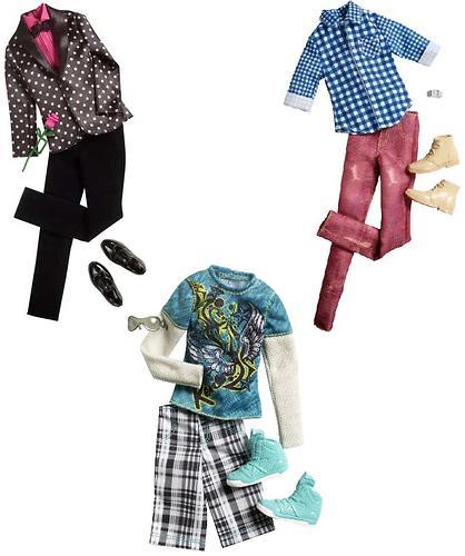 Набор Барби Одежда для Кена в ассортименте (4)