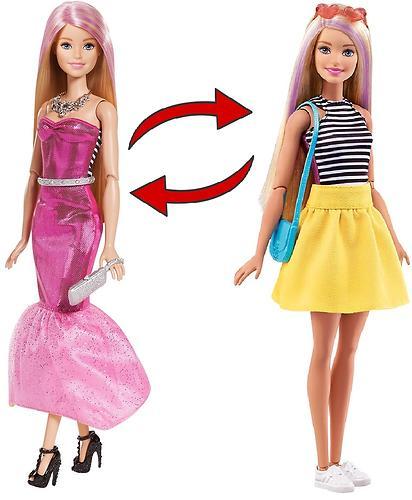Кукла Barbie Модное преображение 2в1 (7)