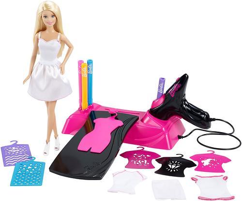 Игровой набор Barbie Дизайнер-аэрограф (8)