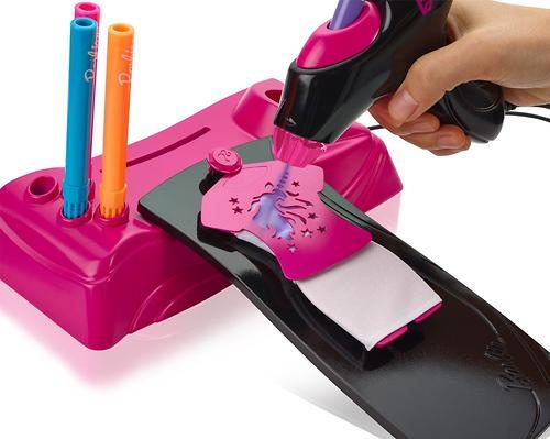 Игровой набор Barbie Дизайнер-аэрограф (9)